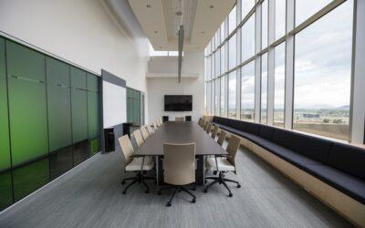 4 tips til indretning af det perfekte mødelokale
